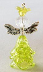 Dragonfly girl, green