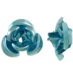Alloy rose, pale aqua