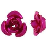 Fémrózsa, fuchsia rózsaszín, 100db