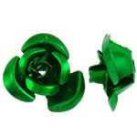Fémrózsa, smaragdzöld, 100 db