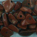 Dobcsiszolt ásvány splitter , vörös jasper