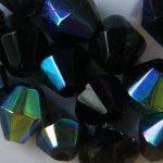 Préselt kristálybikon