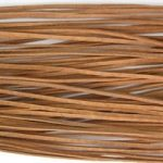 Real splitted leather thread, undyed