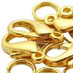Delfin zár arany 10mm