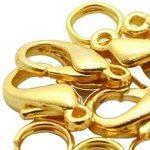 Delfin zár arany 12mm