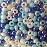 2 mm kásagyöngy színmix