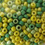 2 mm, kásagyöngy színmix