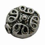 Cast metal bead