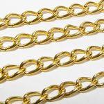 Ékszerlánc arany 3x5mm