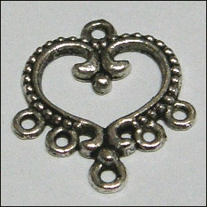 Alloy base with 5 holes