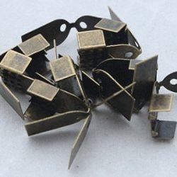 Csúcsíves szalagvégzáró, 6x10 mm