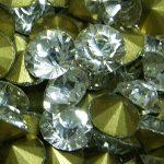 Swarovski imitáció,kristály strassz, kerek