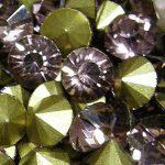 Swarovski imitáció, kristály strassz, kerek