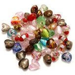 Szív alakú gyöngyök
