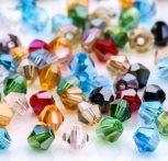 Olcsó kristálybikonok, 6 mm