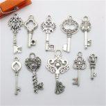 Keys, 50 pieces/ bag